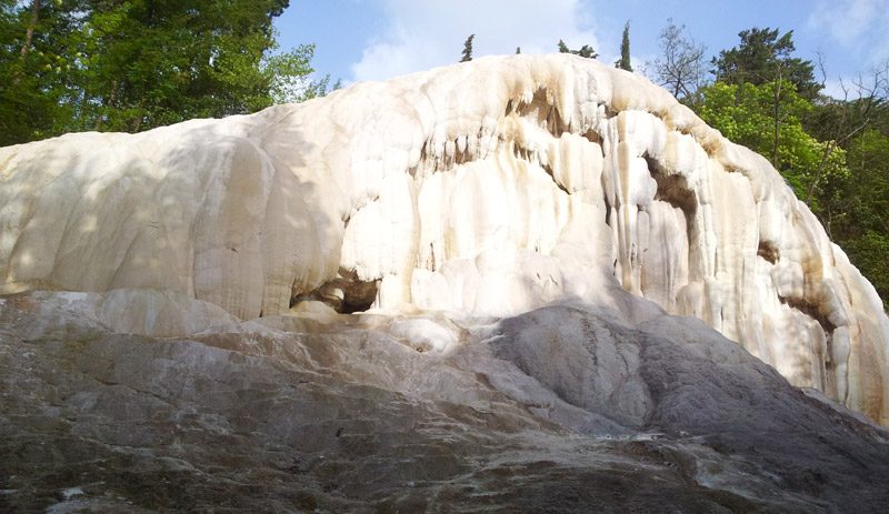 Bagni San Filippo - sorgenti termali libere in Italia